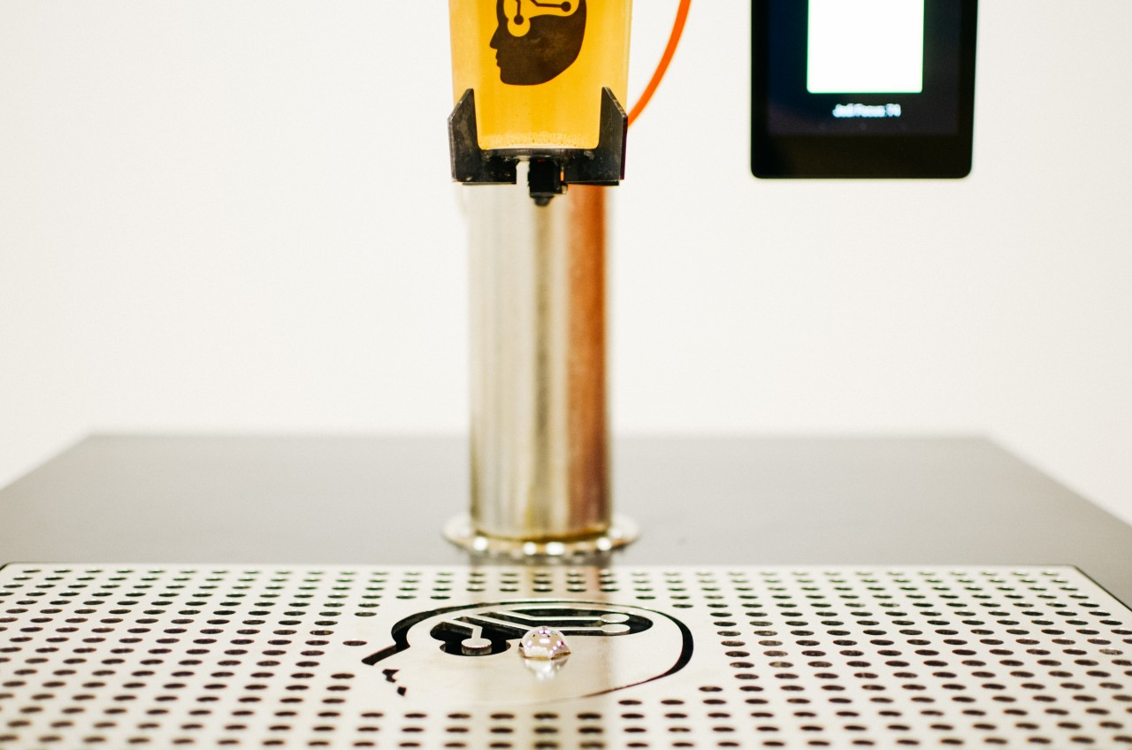 mind controlled beer pouring robot strange thoughts thomas buchanan